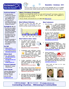 Download Newsletter 5 - Summer 2012